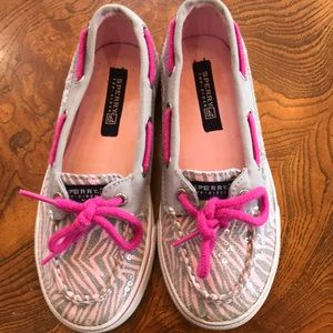 Sperry Top-Sider Girls Biscayne 1Eye size 11.5 EUC